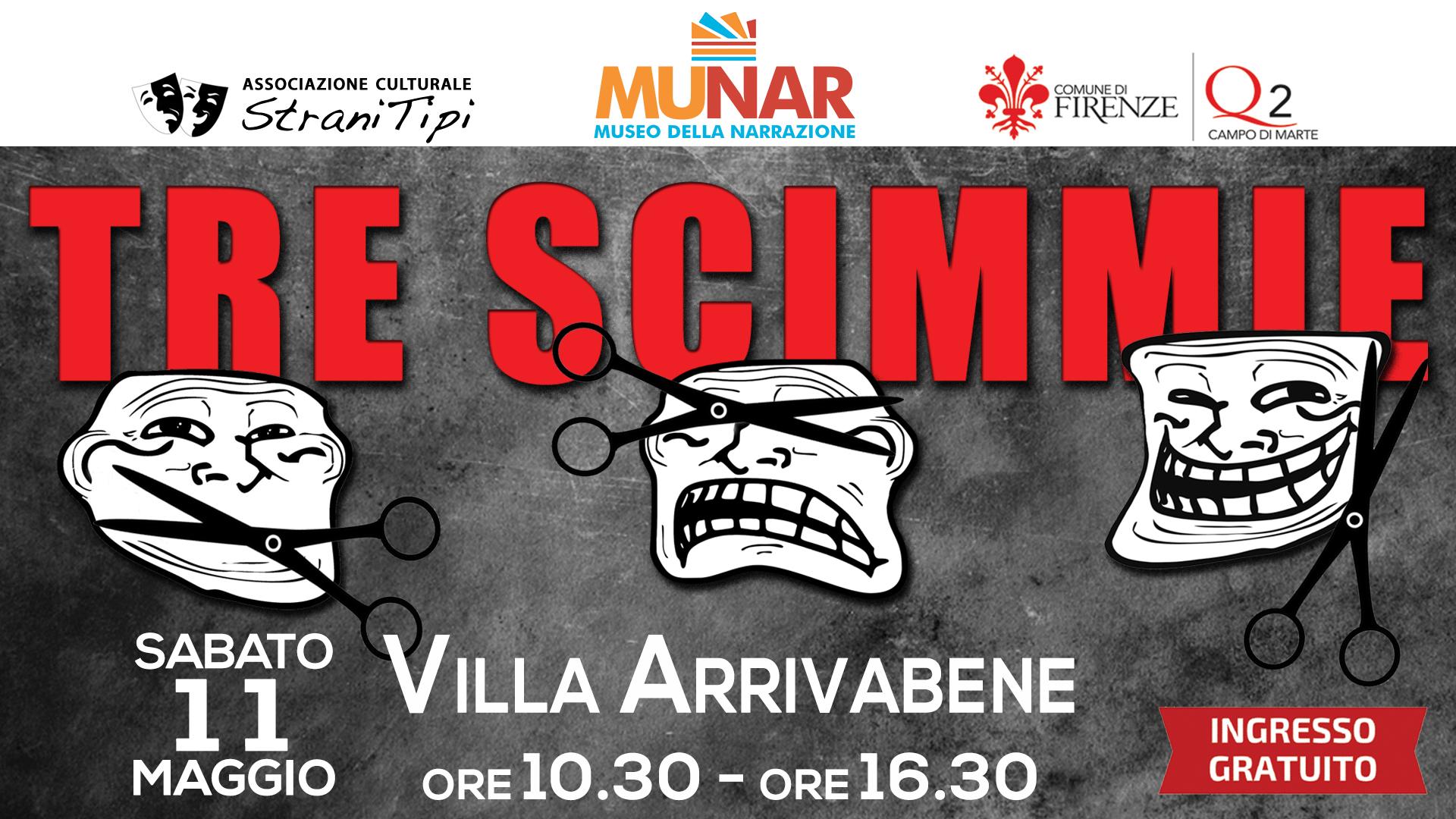 evento-FB-Tre_Scimmie