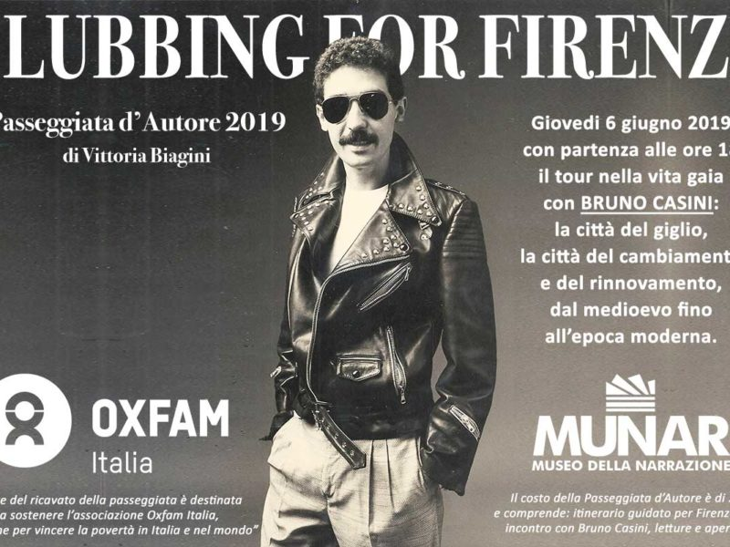 Bruno Casini: «Clubbing for Firenze»
