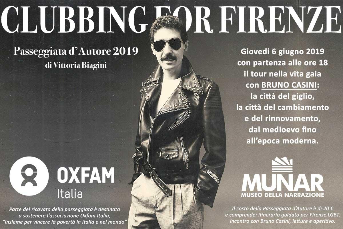 Bruno Casini in Clubbing for Firenze