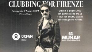 Bruno Casini: «Clubbing for Firenze» (evento MUNAR) @ Firenze centro