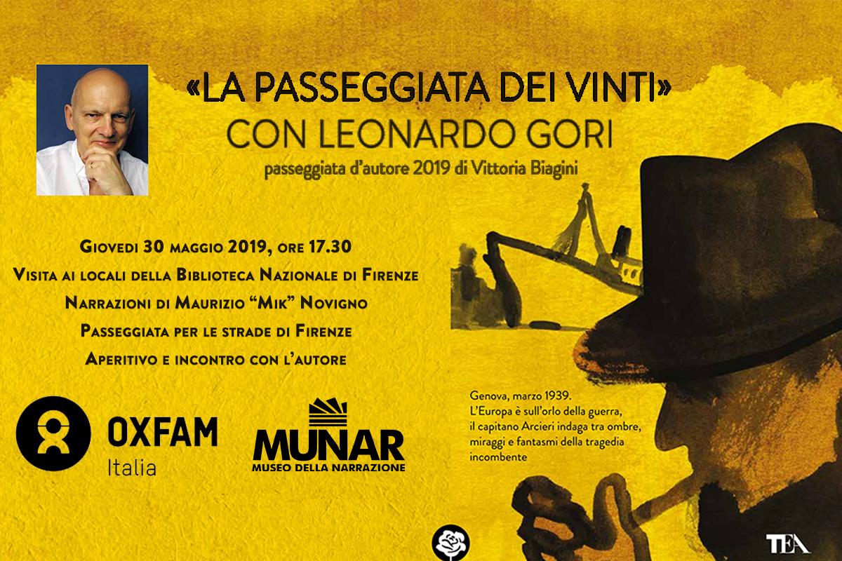 Leonardo Gori la-passeggiata-dei-vinti