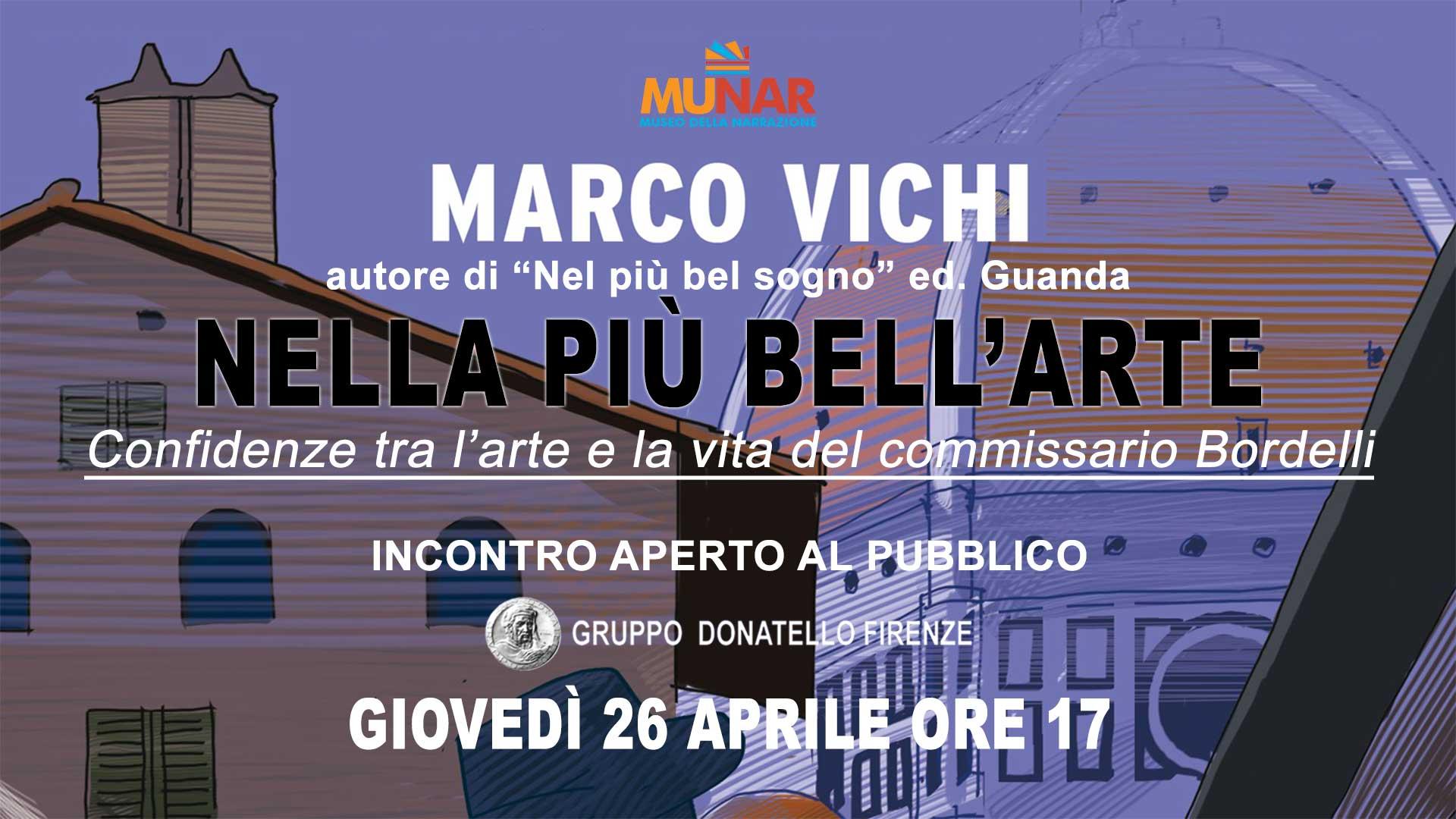 Nella più bell'arte con Marco Vichi